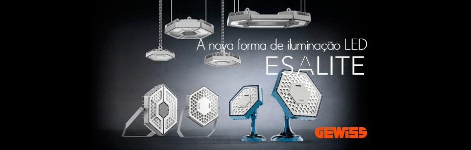 ESALITE - A nova forma de iluminação LED da GEWISS